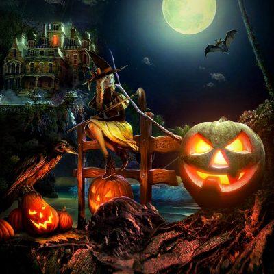 Full Reed & Hearth Moon at Samhain – crisis & hope